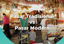 Perbedaan Pasar Tradisional dan Modern